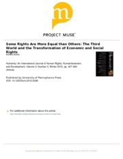 Burke_Some Rights are More Equal
