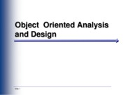 Ch02-Object Oriented Analysis and Design