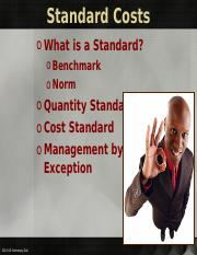 Chapter 23 Standard Costs 2014 (1).ppt