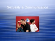 Sex & Communication