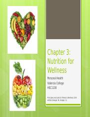 Chapter 3 - Nutrition(2)
