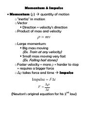 notes - Momentum and Impulse.pdf