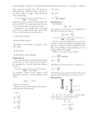 Quest 6 - Chapter 7 - Potential Energy and Energy Conservation Solutions