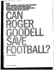 can_roger goodell save