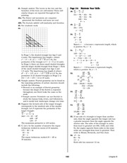 Pre-Calculus Homework Solutions 181