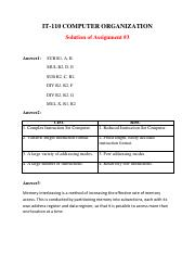 Assignmnet 3-IT110 SolF
