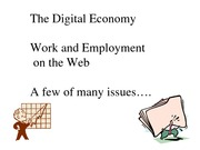 Digital economy and e commerce