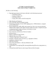 ACC2000 Study Guide for Exam 2 (Chapters 5-8).pdf
