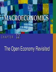CHAP12 open economy revisted