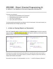 Part 3. Object Oriented Programming II.pdf