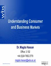 Session 3 analyzing business and consumer markets-2015-Handouts