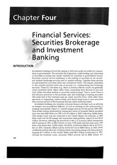 04_Financial Services Securities Brokerage and Investment Banking