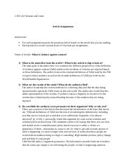 Kilpatrick Article Assignment.docx