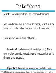 ch4 - Barriers to Trade (tariffs).pptx