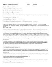 Hardy Weinberg Problem Set ANSWERS - AP Biology Hardy ...