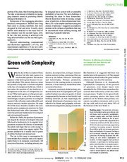 Green with Complexity