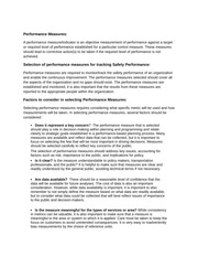 TBEM - Performance Measurement