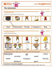 speak-the-television-worksheet