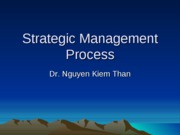 2-Strategic Management Process
