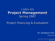 Lecture_2_Project_Financing_&_Evaluation