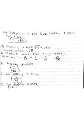notes on probability