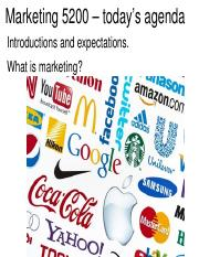 MKTG.1.Course expectations