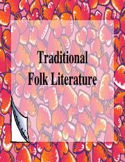 """subanon folk literature Literature 1 literature is the art of written works, and is not bound to published sources the word literature means """"acquaintance with letters."""