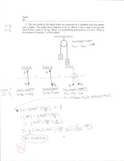 Physics 201 Exam 3