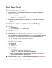 Study Guide - Unit 9 Test Gene Expression - Study Guide Unit 9 RNA ...