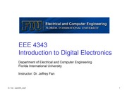 lecture 7 on Introduction to Digital Electronics