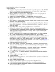 Study Guide Quiz 4-Nervous-Endocrine System-1