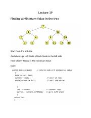 Minimum Value in the tree.docx