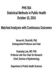 PHS 554 (2016_10_10 - Matched Analyses with Continuous Outcomes)