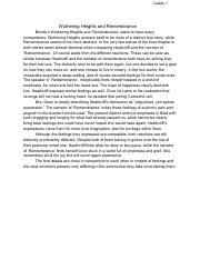 Wuthering heights duality essays