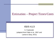 ISDS4113_Resources_Estimating_020713