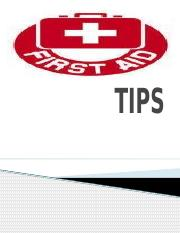 FIRST AID TIPS.pptx