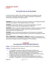 PD 1067 (Water Code of the Philippines).pdf