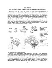 New Chapt. 21 Functions of the Cortex(1)