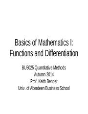 Lecture 01 - Functions and Differentiation - Student Version.pdf