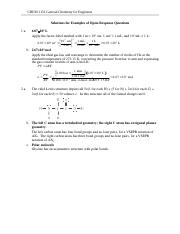 CHEM 1151 Example Open-Response Questions - Solutions(2).doc