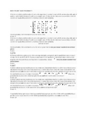 MATH 115A FINAL EXAM HWS STUDY GUIDE