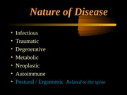 DIAG 2725 Critical Thinking - Nature of Disease