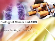 Lecture 16 - Cigarette Smoking and Cancer