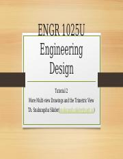 ENGR 1025 Tutorial 2