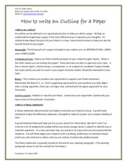 How to write an Outline for a Paper.pdf