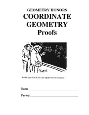 Coordinate Geometry Proofs Packet 2012 H