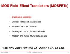 EE216_L12_MOSFETs