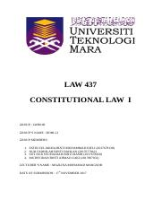 Assignment LAW 437 Constitution.docx