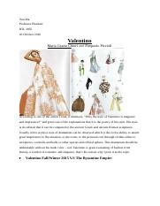 History of Fashion research paper #2.docx