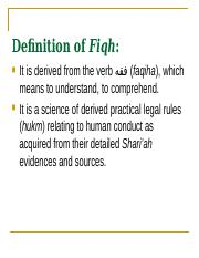 Definition of Fiqh.ppt